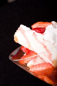 Free Strawberry Shortcake Royalty Free Stock Images - 9396589