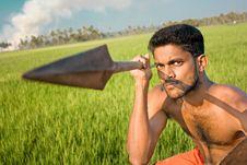 Free Kalarippayat, Indian Ancient Martial Art Of Kerala Royalty Free Stock Photography - 9397057
