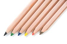Free Six Pencils Stock Photos - 9397263