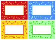 Free Floral Pattern Frame Royalty Free Stock Images - 9397889