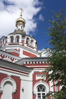 Part Of Orthodox Cathedral Stock Images