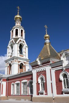Part Of Orthodox Cathedral Stock Photography