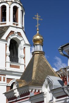 Part Of Orthodox Cathedral Royalty Free Stock Images