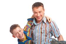 Free Father And Son Stock Photography - 9399132