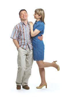 Free Happy Loving Couple Royalty Free Stock Photos - 9399138