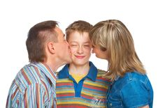 Free Mother, Father And Son Royalty Free Stock Photo - 9399145