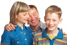 Free Mother, Father And Son Stock Photography - 9399152