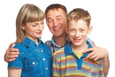 Free Mother, Father And Son Stock Photo - 9399160