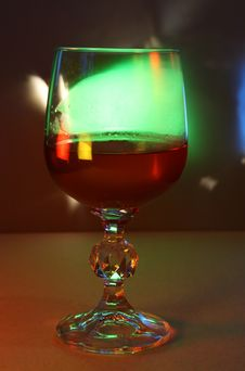 Free Wine Of Light Royalty Free Stock Photos - 9399848