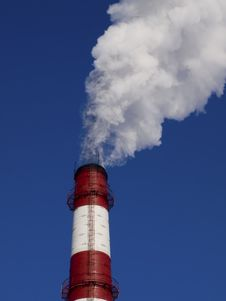 Free Emissions Of The Industrial Enterprise. Royalty Free Stock Photo - 9399945