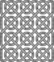 Free Celtic Knot Illustration Stock Photo - 9399960