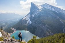 Free Person Standing On Mountain During Day Time Royalty Free Stock Photography - 93948527