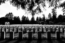 Free Greyscale Photography Of Tombstones In A Cemetery Royalty Free Stock Photos - 93948778