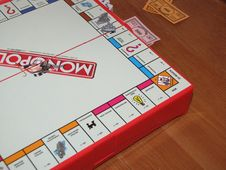Free Game Of Monopoly Stock Photo - 93999470