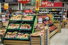 Free Fruits In Supermarket Royalty Free Stock Image - 93999516