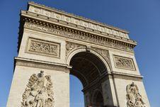 Free Arc De Triomphe, Paris, France Royalty Free Stock Photos - 93999558