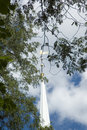Free Steeple And Clouds Royalty Free Stock Images - 945729