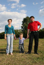 Free Family With Son Royalty Free Stock Image - 946006
