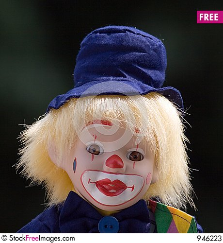 Free Clown Boy Stock Photos - 946223