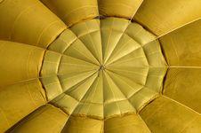 Yellow Ballon Stock Photography