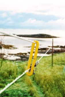 Free Clothesline Royalty Free Stock Image - 940826