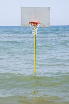 Free Baasketball  In The Sea Stock Photos - 941383