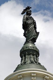 Free Capitol Freedom Statue Royalty Free Stock Images - 942859
