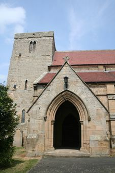Free Northumbrian Church Royalty Free Stock Image - 942916