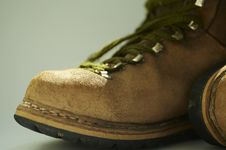 Old Boot Stock Photography