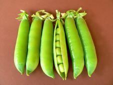 Free Green Peas Royalty Free Stock Photos - 943248
