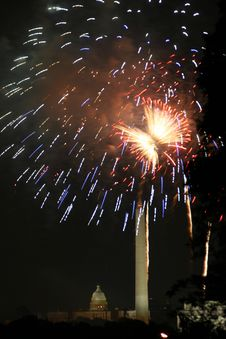 Free DC Fireworks Stock Images - 943424