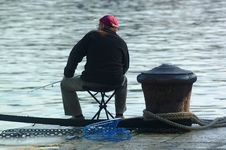 Free Fisherman Royalty Free Stock Photos - 944008