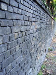 Free An Old Brick Wall Background Stock Photo - 944280