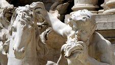 Free Trevi Fountain Royalty Free Stock Photos - 944468