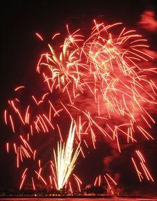 Free Fireworks Royalty Free Stock Photo - 945645