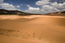 Dunes And Sky Stock Photos