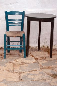 Free Greek Chair Stock Photos - 946443