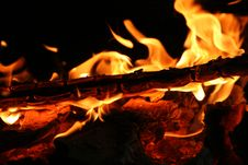 Free Burning Fire Stock Photography - 947142