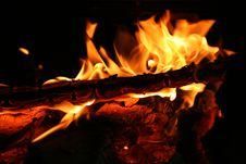Free Burning Fire Royalty Free Stock Photos - 947148