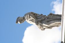 Free Roman On Roof Stock Photography - 948652