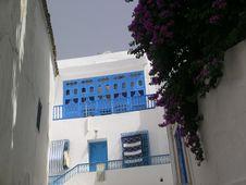 House In Sidi Bou Said Stock Image