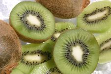 Free Kiwi Slices Stock Photos - 949073