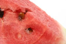 Watermelon Close Up Stock Photography
