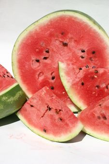 Free Watermelon Slices Royalty Free Stock Photography - 949097
