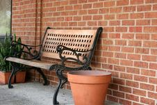 Free Park Bench 3 Stock Photography - 949592