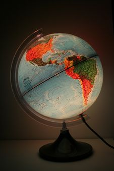 Free World Sphere Royalty Free Stock Image - 949596