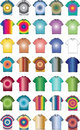 Free Fashion Clothes Color T-shirt Shape Illustration Stock Photography - 9408782