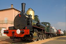 Free Steam Train 1 Royalty Free Stock Photo - 9400415