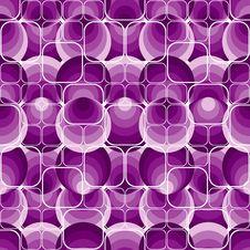 Seamless Violet Pattern Stock Image