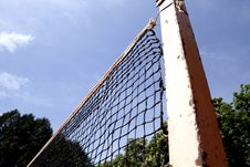 Free Tennis Or Beachvolley Net Stock Photography - 9400752